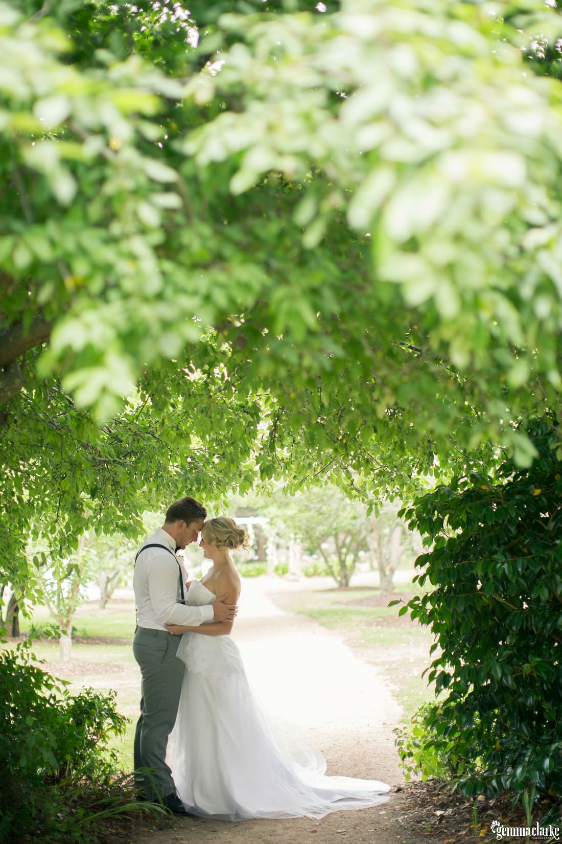 Alicia and James' Vintage Wedding at Sylvan Glen