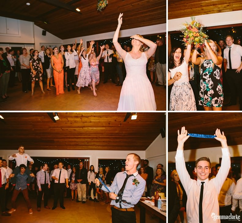 Zoe and Cam's Dirt Bike Wedding - Kangaroo Valley Bush Retreat