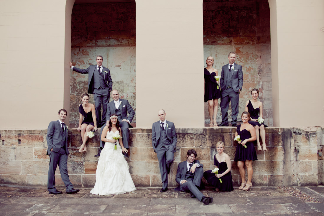 Anna and Sam's Classy Vintage Inspired Wedding at The Mint – Sydney – Gemma Clarke Photography