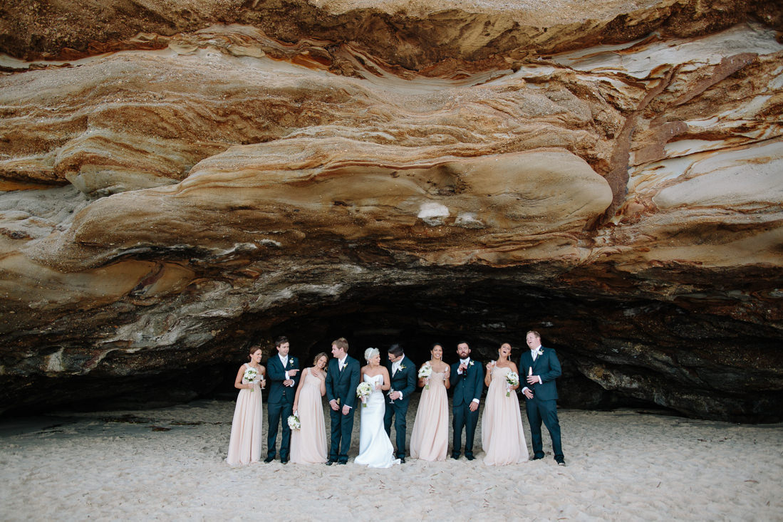 Amy and Ryan's Spectacular Caves Beach Wedding – Lake Macquarie, Newcastle – Gemma Clarke Photography