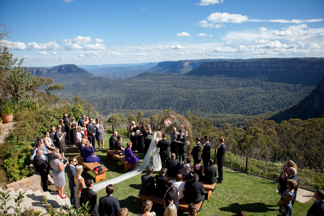 Brooke and Michael's Lavish Vintage-Glam-Inspired Wedding – Echoes Hotel, Blue Mountains – Gemma Clarke Photography