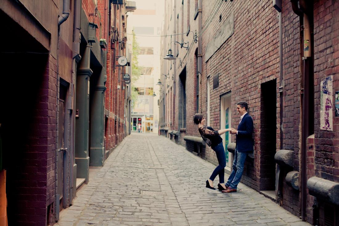 Leanne and Stuart's Urban Melbourne Portraits