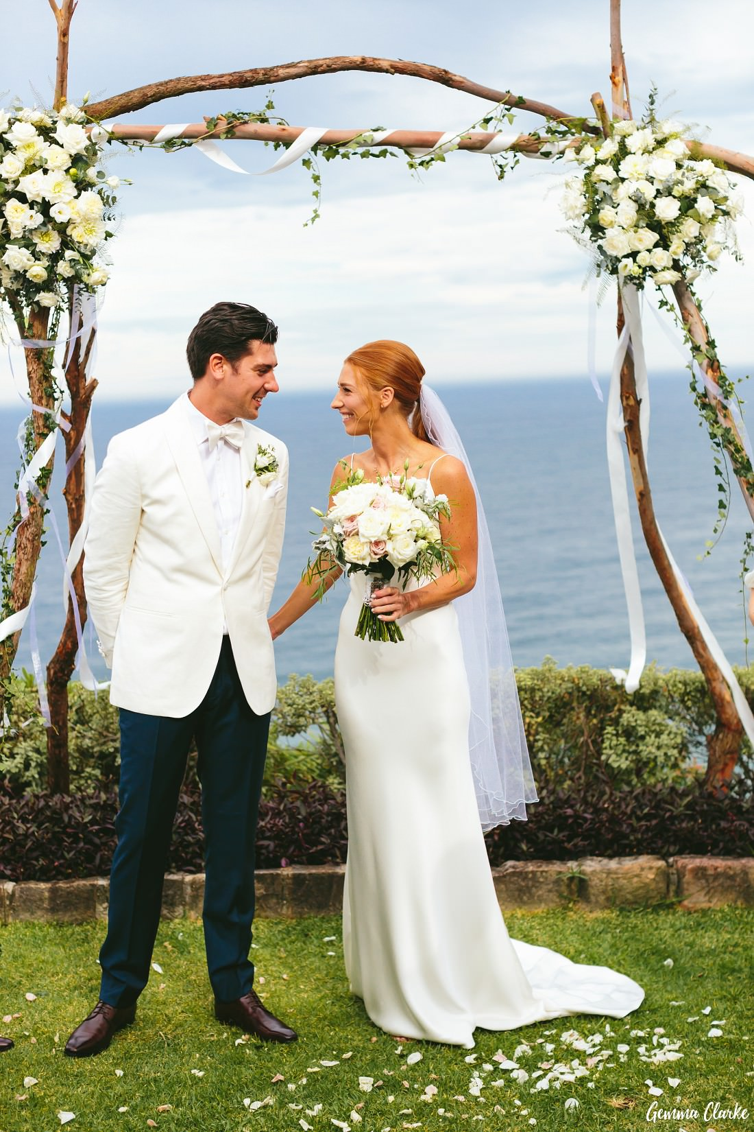 Julia And Byron S Wonderful Whale Beach Wedding