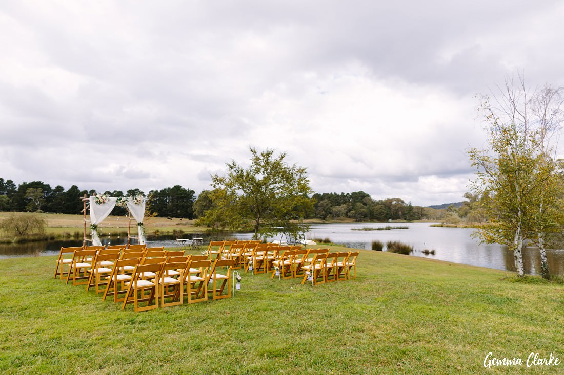 April & Matt's Relaxed Autumn Southern Highlands Wedding in Berrima