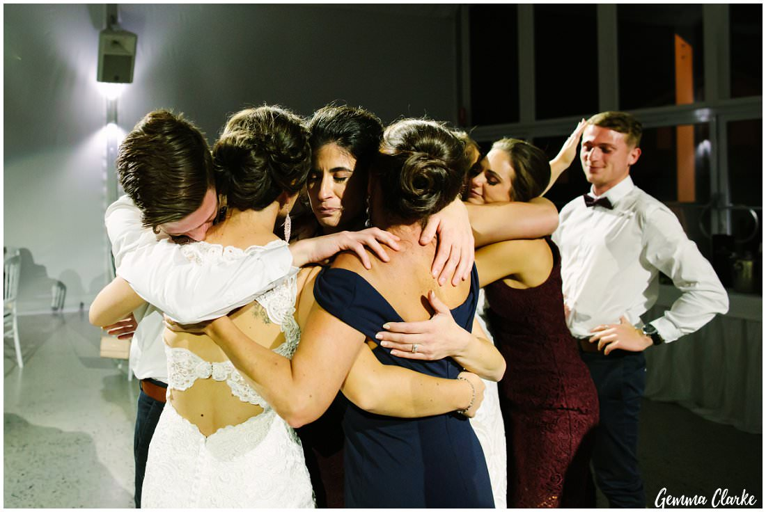 A very emotional moment on the dance floor at this Ottimo House Wedding.