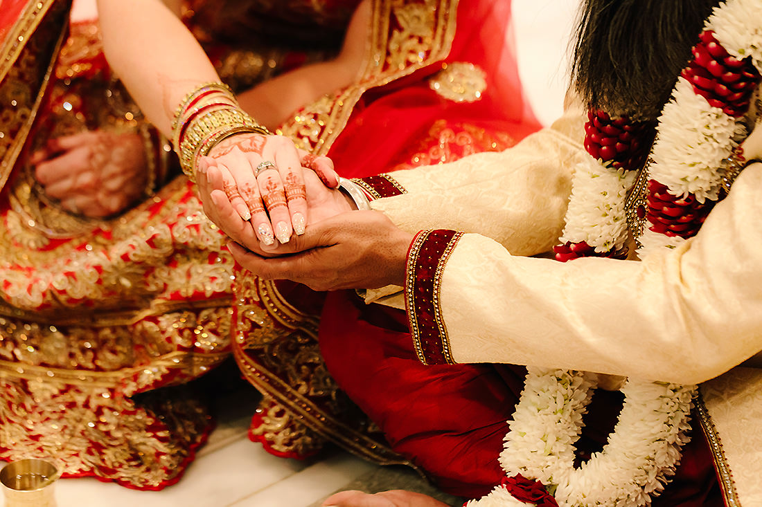 Hindu Hare Krishna Wedding Ceremony