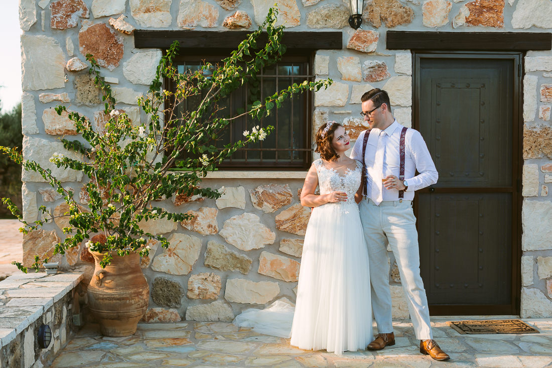 Greek Villa Wedding Zakynthos